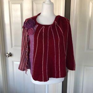 BCBG Sweater Cape/Poncho
